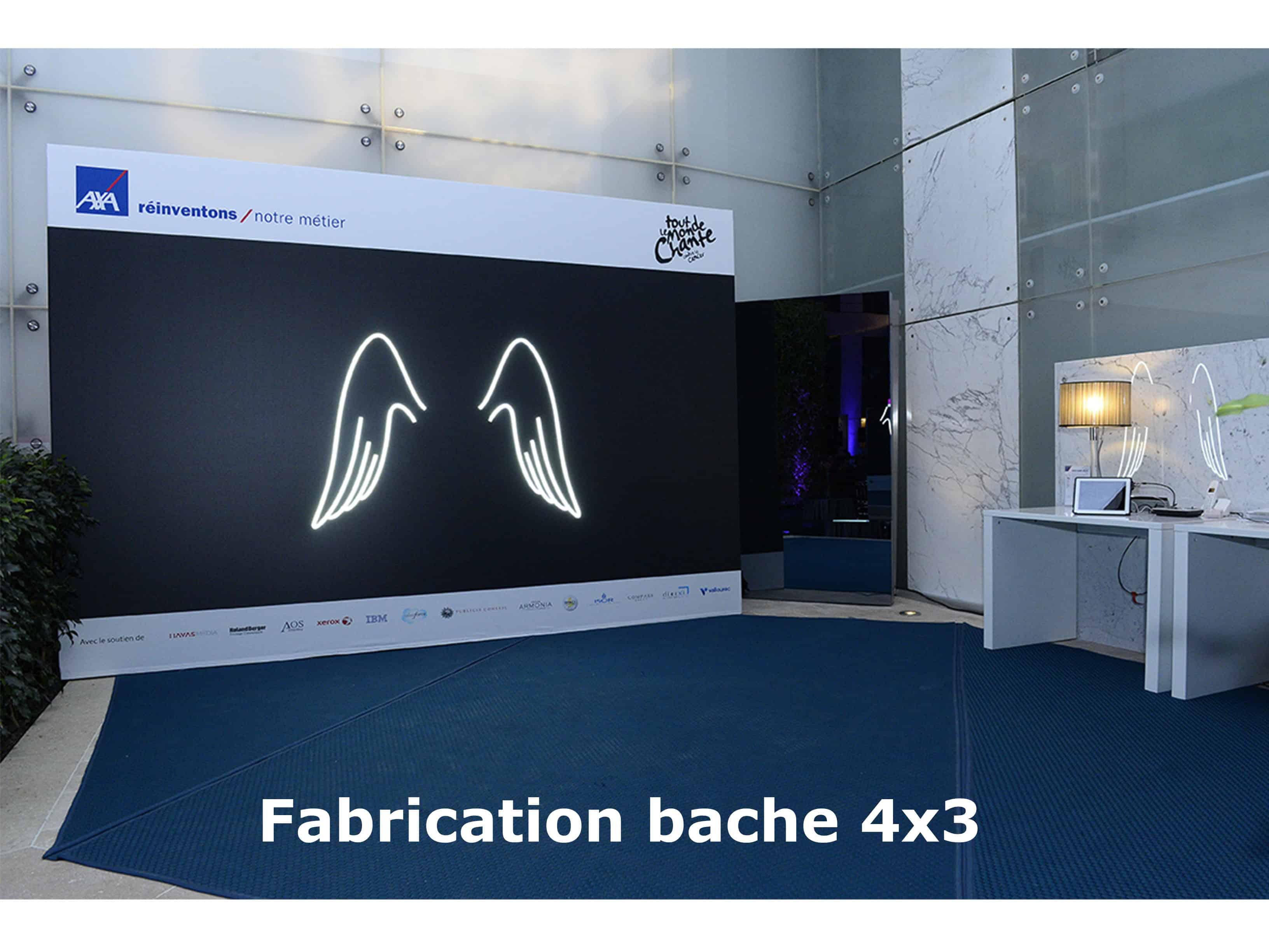 fabrication de bache photobooth 3 - Sharingbox photobooth et videobooth Paris