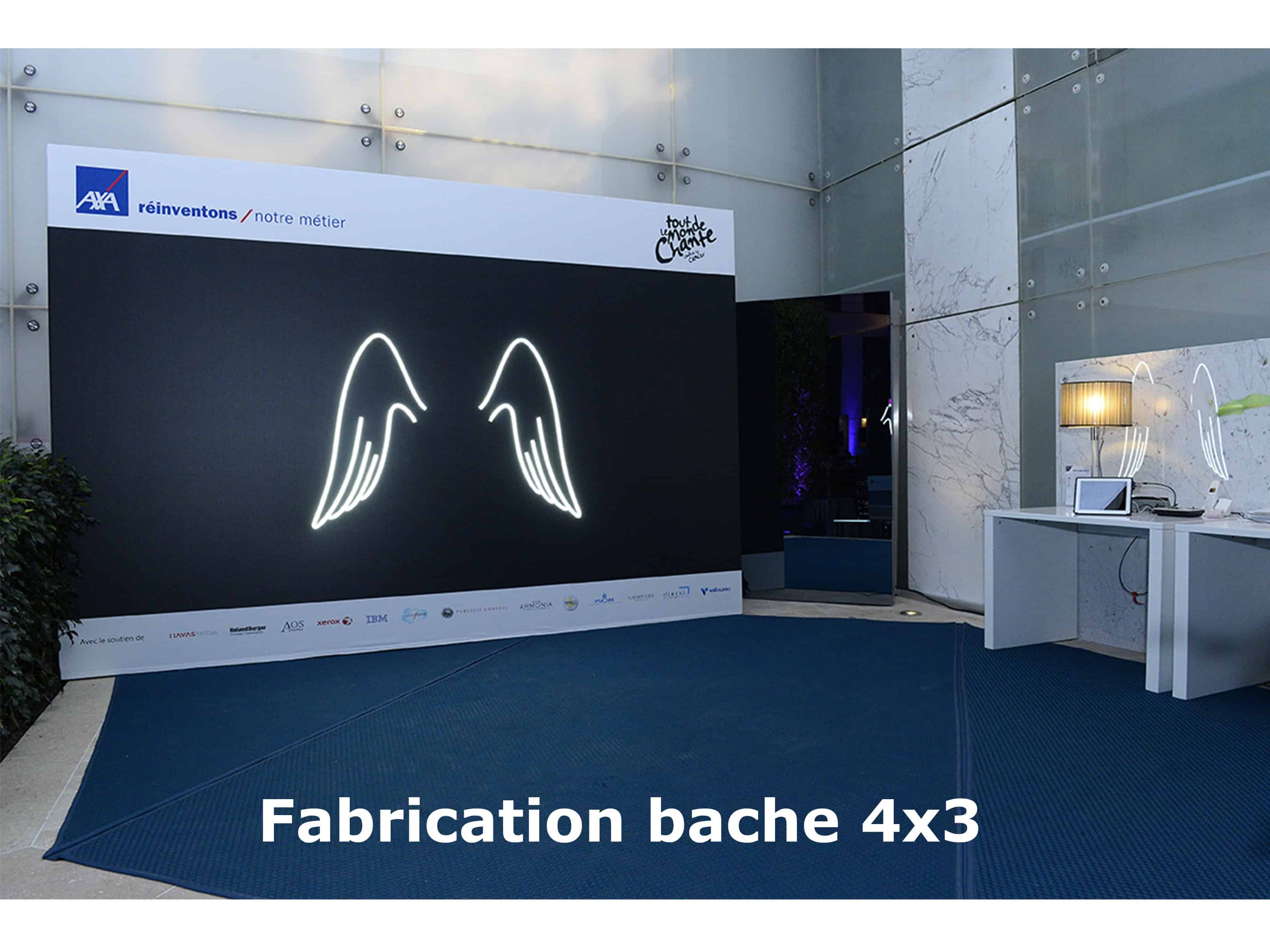 fabrication de bache photobooth 3 - Photobooth et vidéobooth Paris, Location photomaton