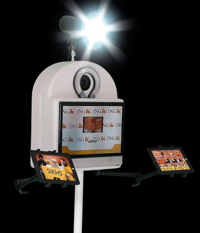 photobox2 - La Photobox Party: une borne libre service type photomaton photocall ou studio photo