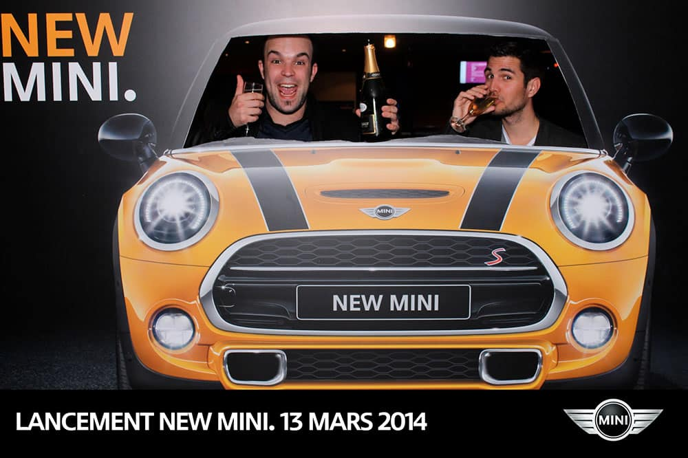 photocall new mini - Photocall Lancement News Nouvelle MINI Paris