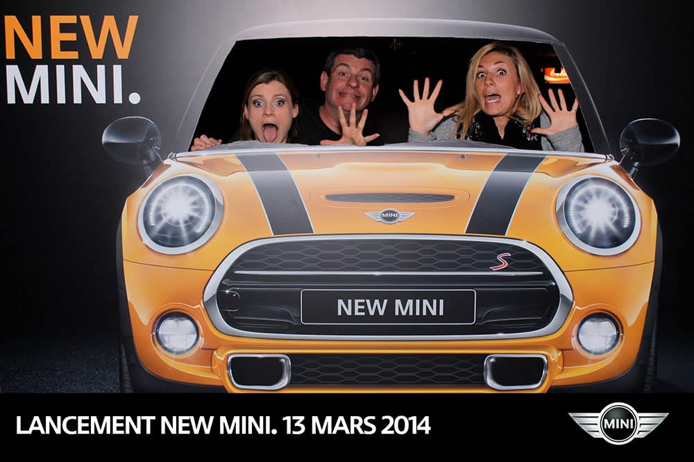 photocall new mini1 - Photocall Lancement News Nouvelle MINI Paris