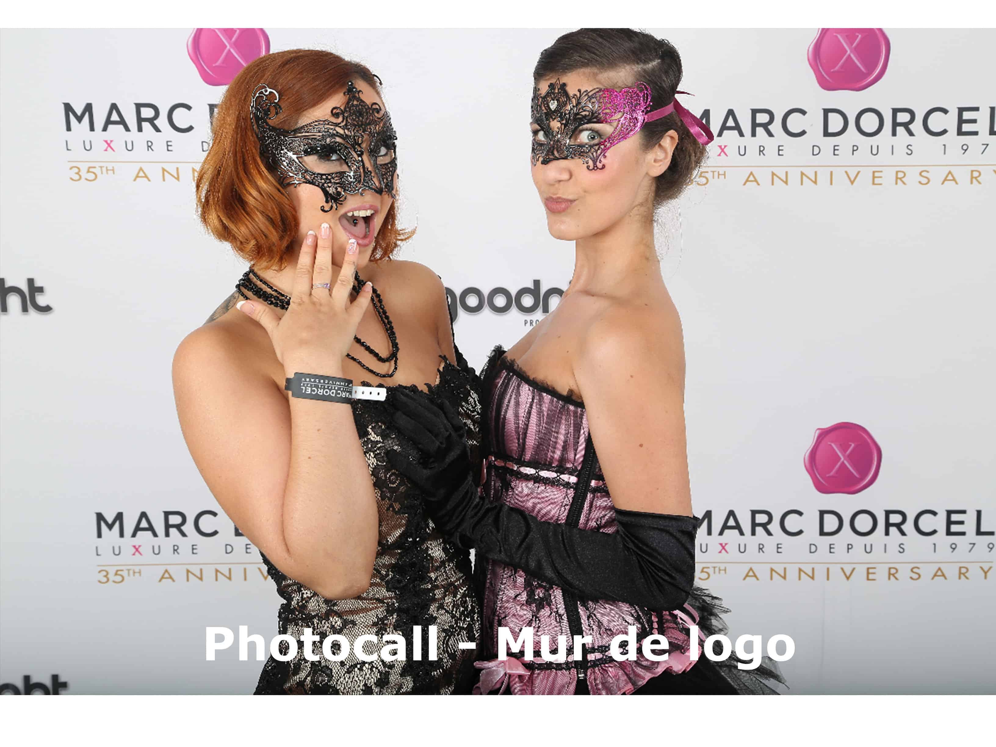 photocall ou mur de logo 1 - Parties and events PhotoCall Animation for brands