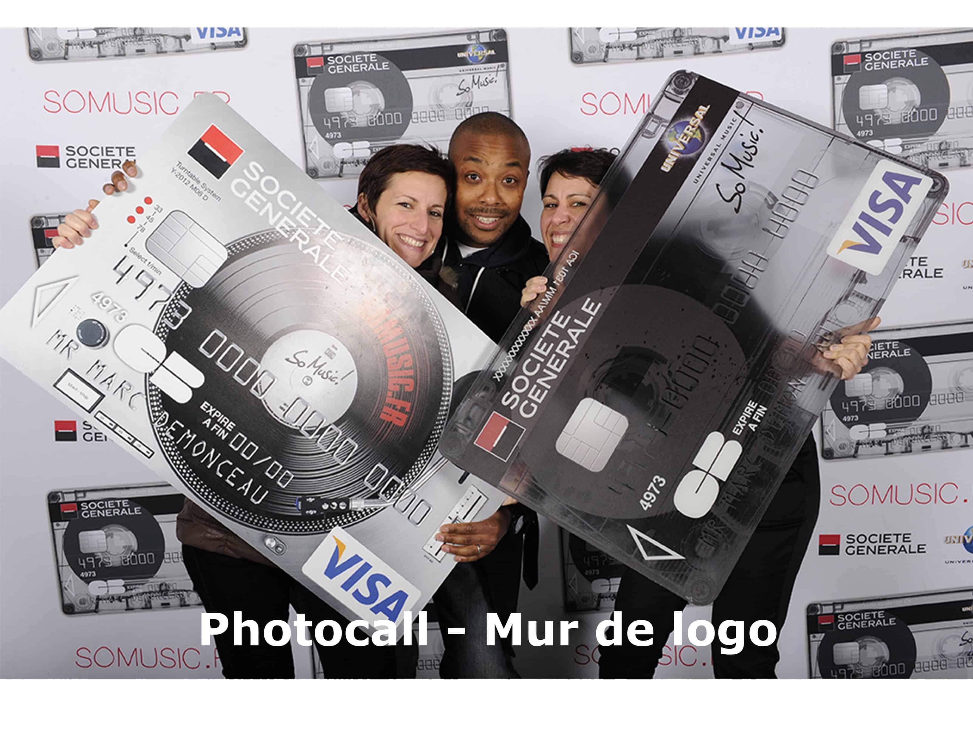 photocall ou mur de logo 3 - Sharingbox photobooth et videobooth Paris
