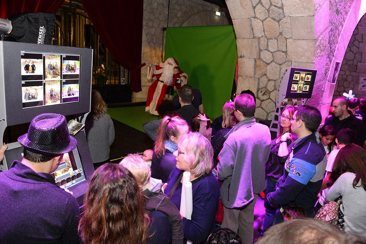 photographe evenementiel paris 2 - Photographe - Organisation d'une fête de noël par un comité d'entreprise au Showcase à Pari