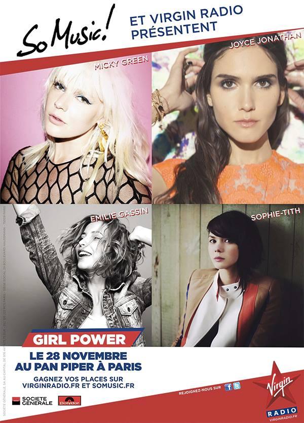 Concert Privé So Music Power Girl