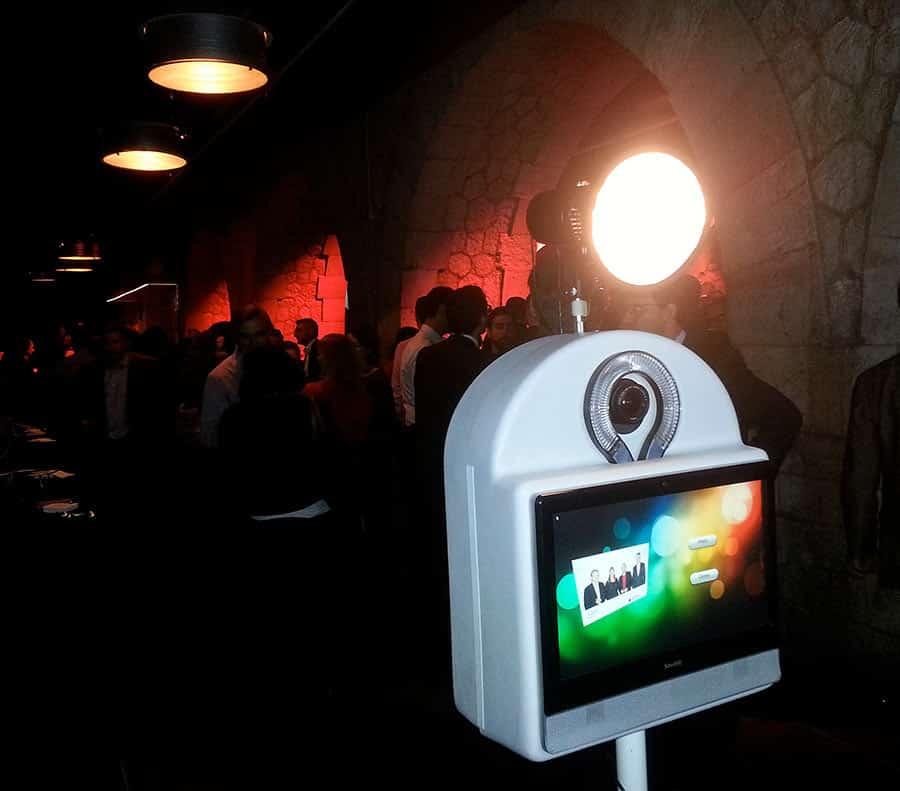 photobox party showcase - La Photobox Party: une borne libre service type photomaton photocall ou studio photo