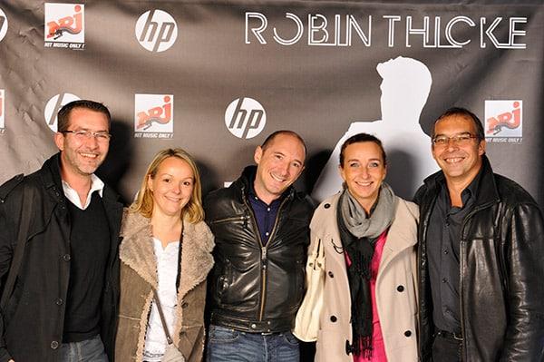 Photographe événementiel concert privé Universal music, Robin Thicke à Paris