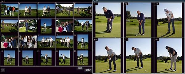 photographe tournoi golf