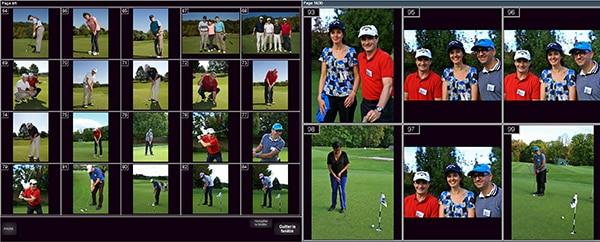 photographe tournoi golf impression photo